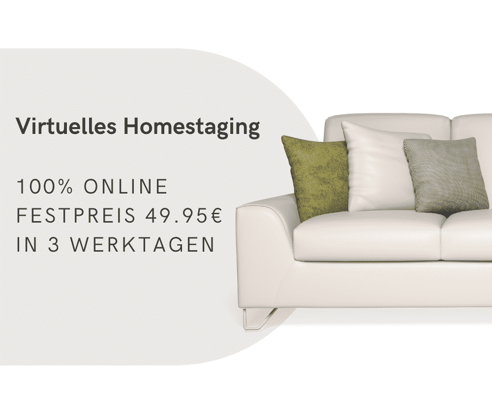 Virtuelles Homestaging